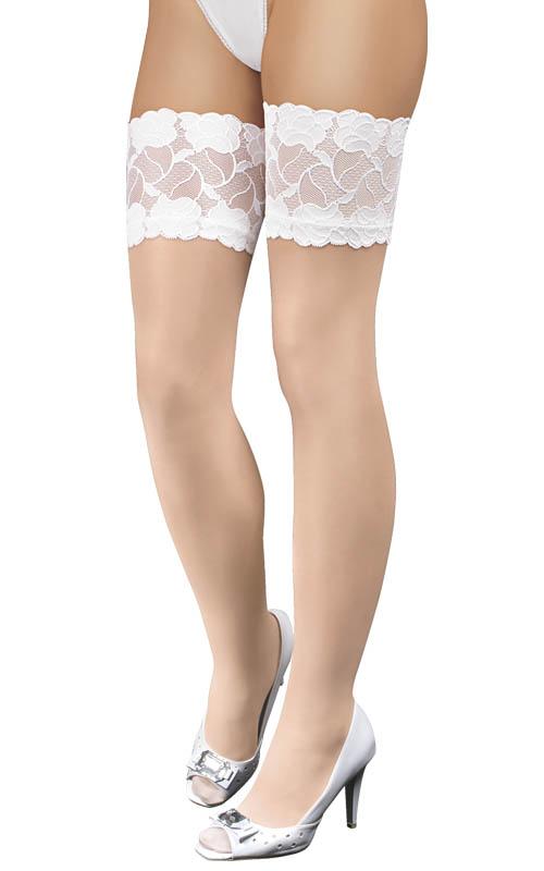 Stockings L-XL/white