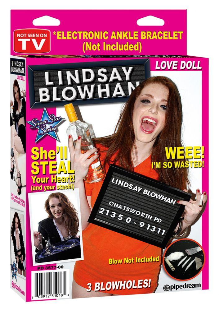 Lindsay blowhan doll