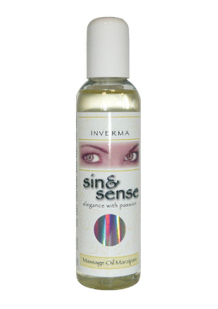 Masážní olej s vůní marcipánu 150 ml.