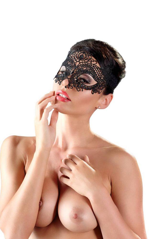 krajková maska na oči