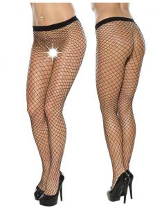 Fishnet Tights L-XL/Black