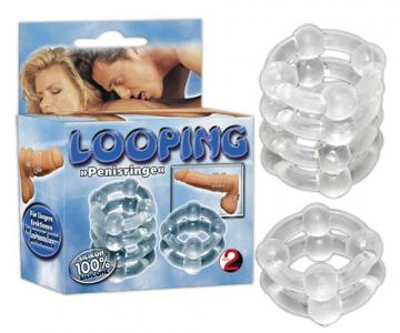 Looping ring set.